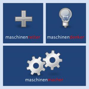 maschinentypen: maschinenretter, -denker und -macher